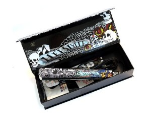 Herstyler Tattoo Black Ceramic Hair Straightener