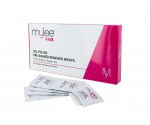 Mylee Nail Gel Polish Pre-Soaked Remover Wraps